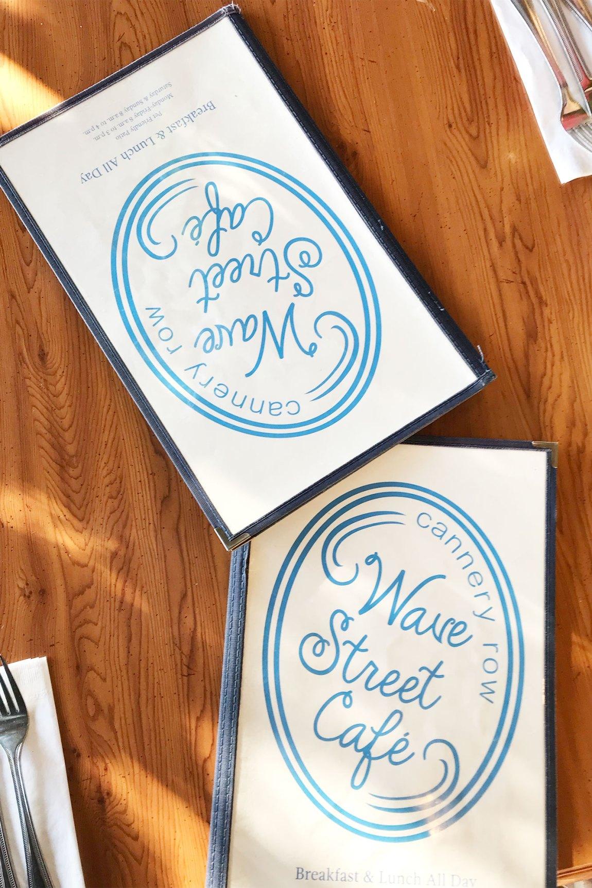 Wave Street Cafe Menus | Local Love and Wanderlust