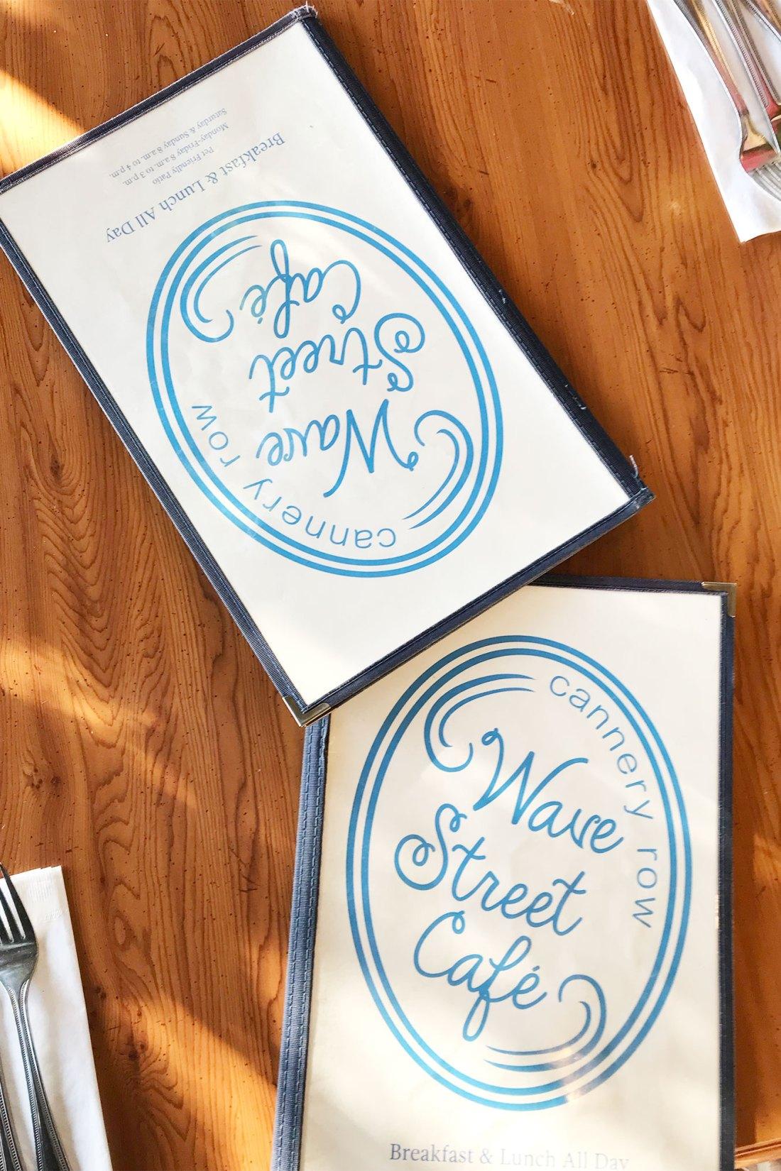 Wave Street Cafe Menus   Local Love and Wanderlust