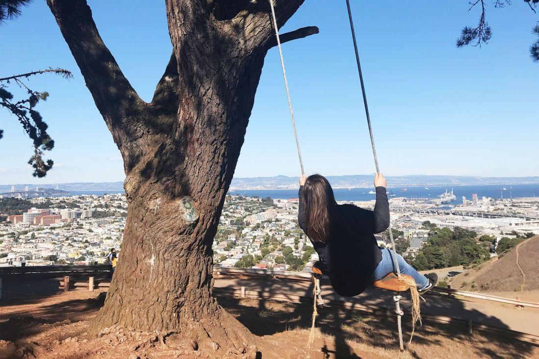 Bernal Heights Swing