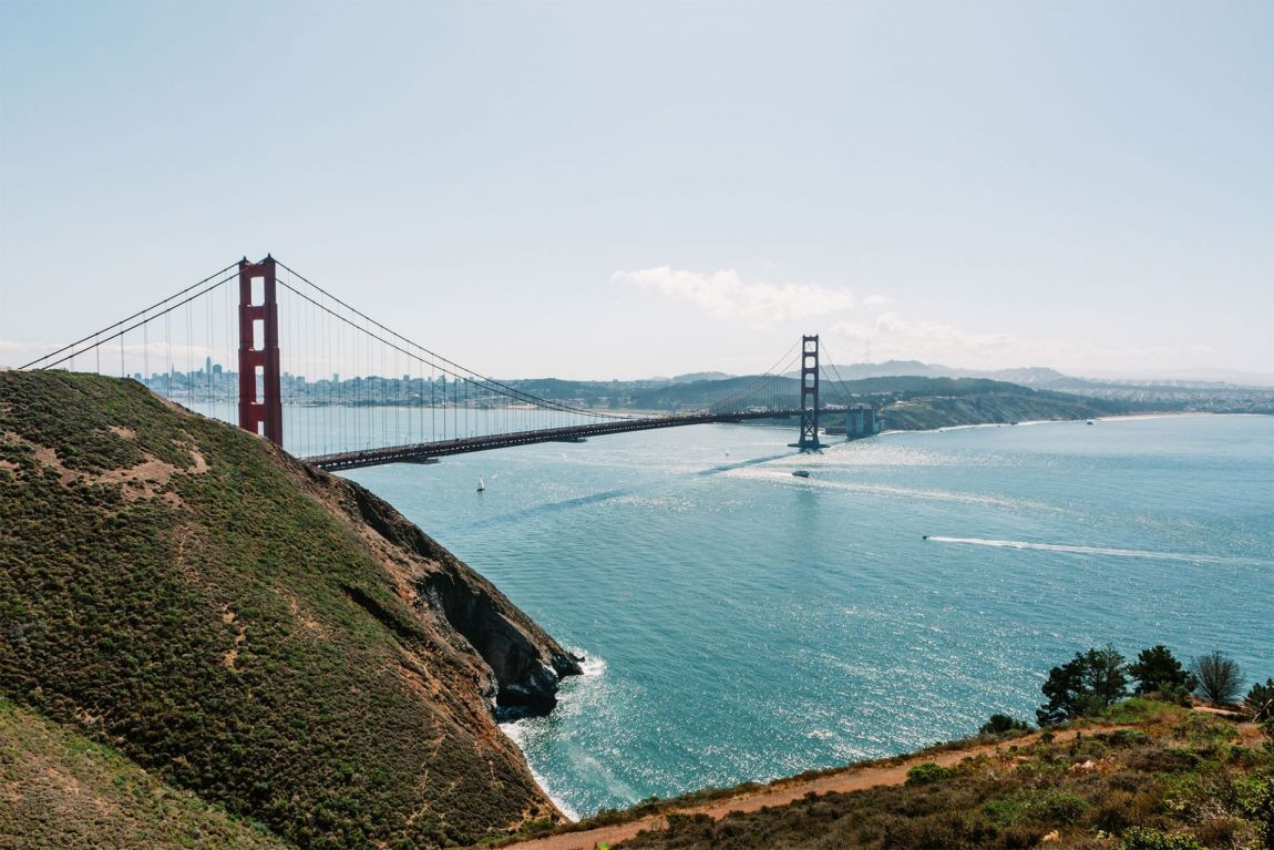 Golden Gate Bridge seen from Battery Spencer San Francisco, California | Local Love and Wanderlust