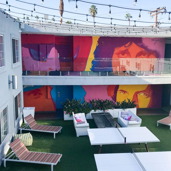 Let's Tour The Kinney, A Venice Beach Hotel