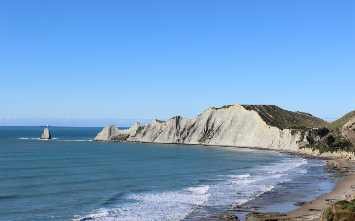 White Cliffs of Cape Kidnappers