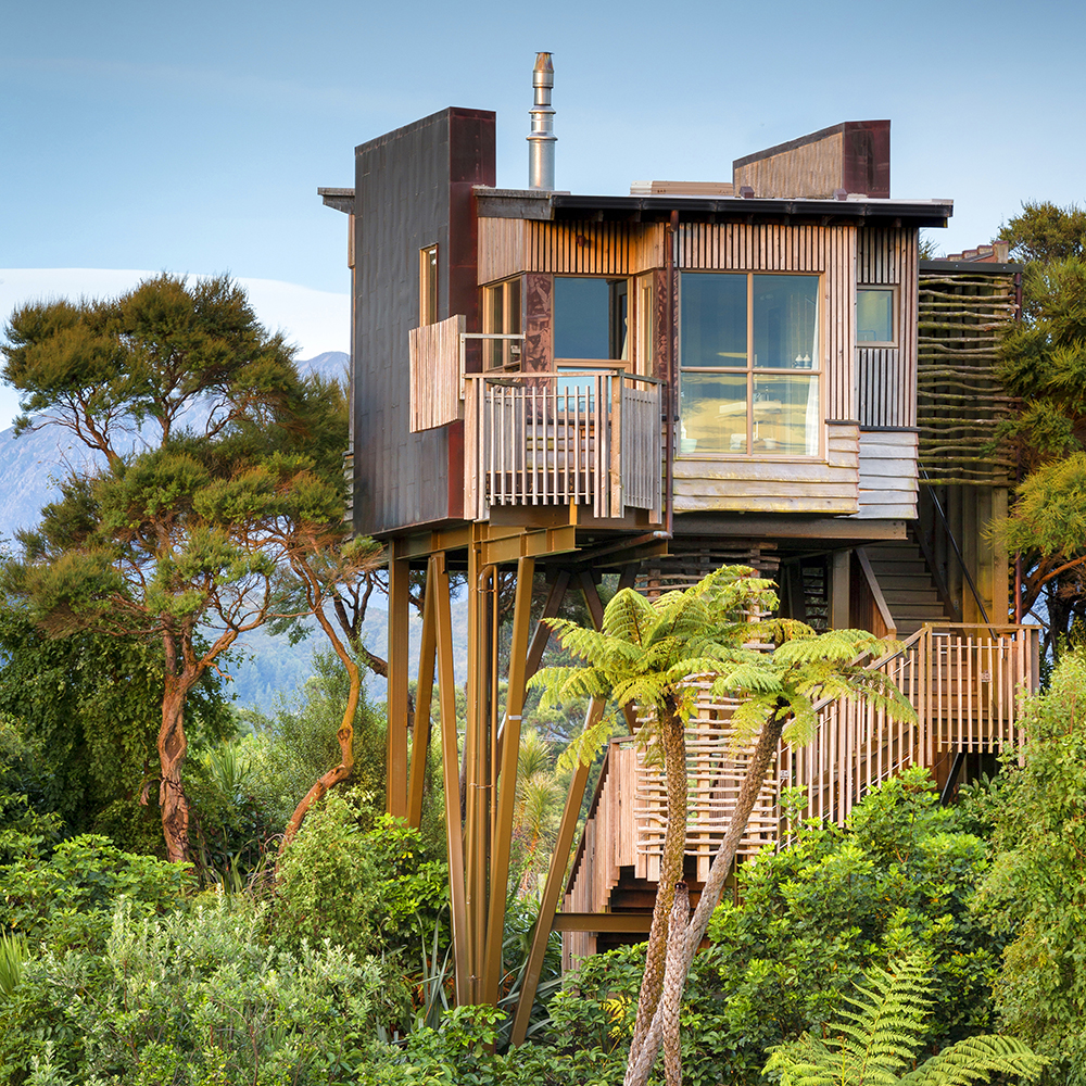 Treehouses at Hapuku Lodge