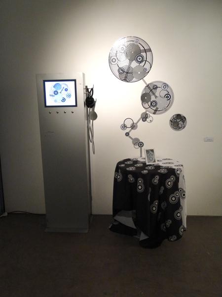 Ghetti's Installation at Forja