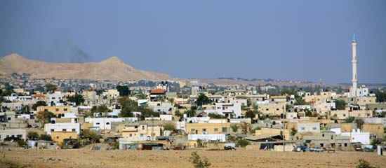 Jericho in the occupied territory of the West Bank