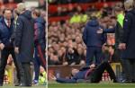 Man Utd boss Louis Van Gaal's fall during match inspires hilarious memes online - 2