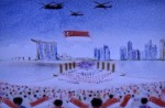 Talented sand artist creates touching SG50 tribute to Mr Lee Kuan Yew - 16