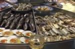 Massive steam-table seafood spread elicits excited exclamations - 50