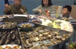 Massive steam-table seafood spread elicits excited exclamations - 53