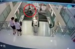 Chinese exercise extreme caution when riding escalators after mishap - 9