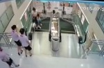 Chinese exercise extreme caution when riding escalators after mishap - 11