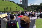 KL cabbies gather to protest Uber and GrabCar - 9