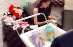 Jay Chou shares photos of his daughter's face... almost - 13