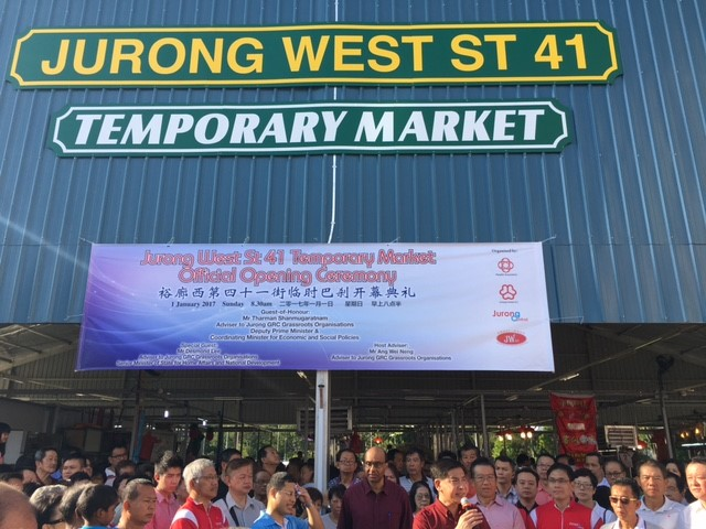 2-storey complex to replace fire-ravaged Jurong West market | Local