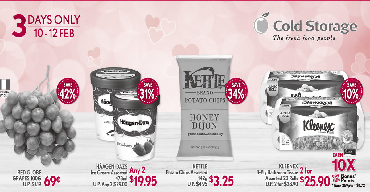 Cold Storage 3-day offers ...  sc 1 st  localnewsingapore.com & Cold Storage 3-days offers features Haagen-Dazs 2-for-$19.95 Kettle ...