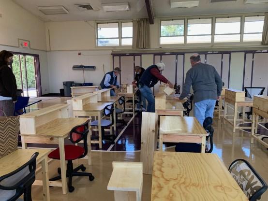Seniors4Students desk delivery