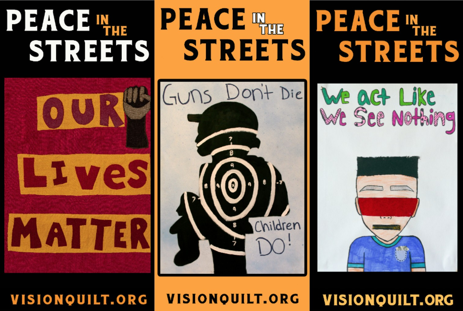 Oakland residents and civic leaders counting on art to combat gun violence and bring peace to their streets