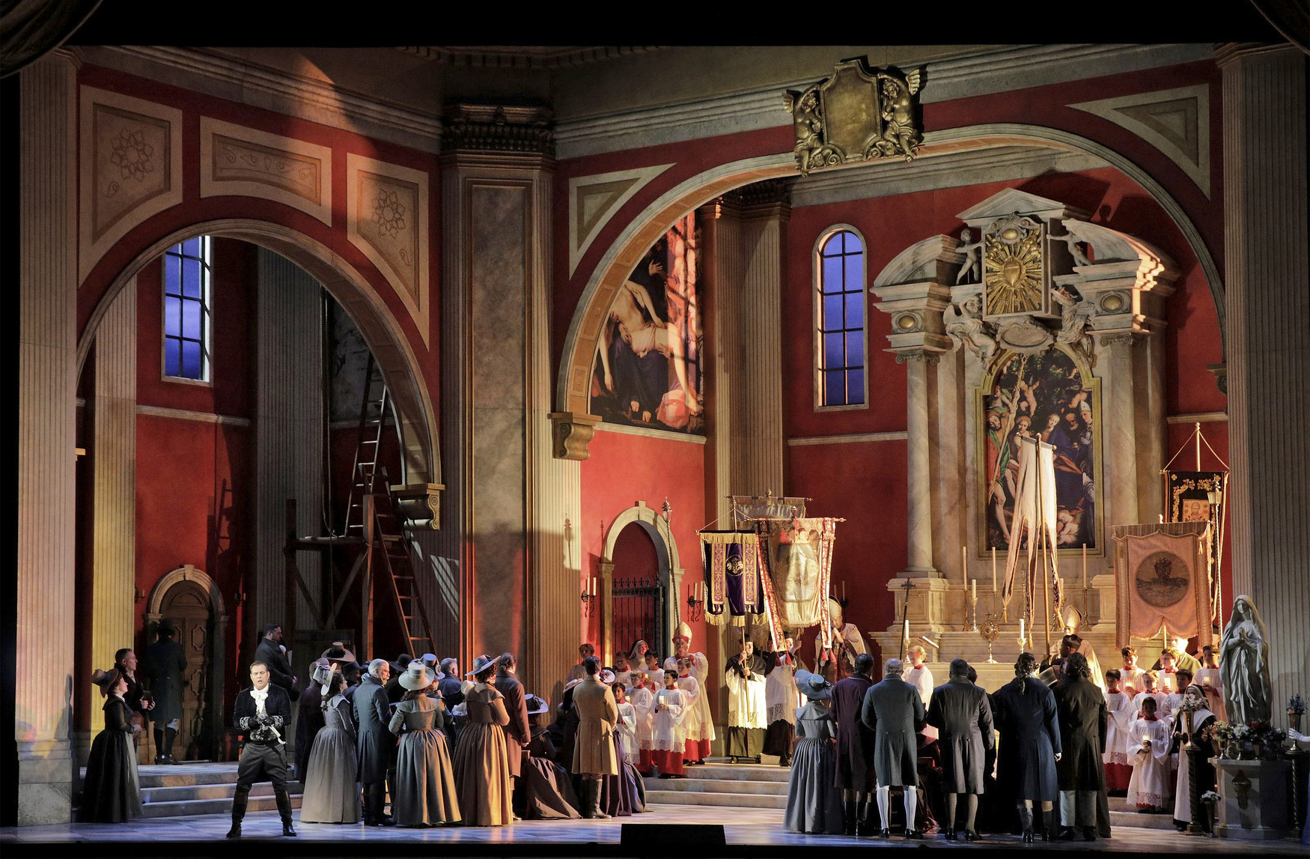 S.F. Opera returns to War Memorial Opera House in August with Puccini's 'Tosca'