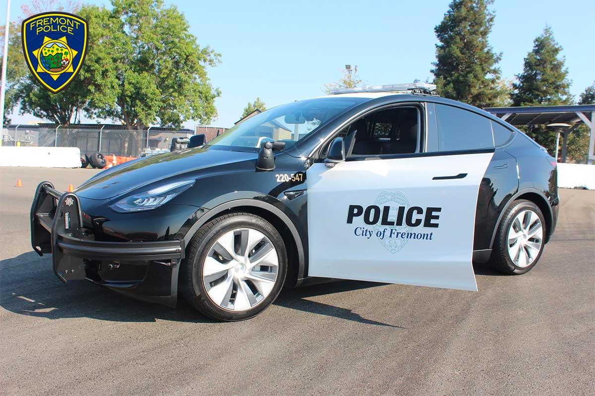 Tesla Model Y joins Fremont Police patrol fleet; public can get peek Oct. 1