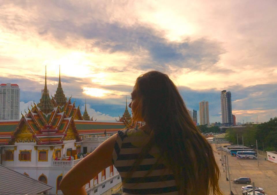 Falling in love with Thailand at Bangkok Hub Hostel