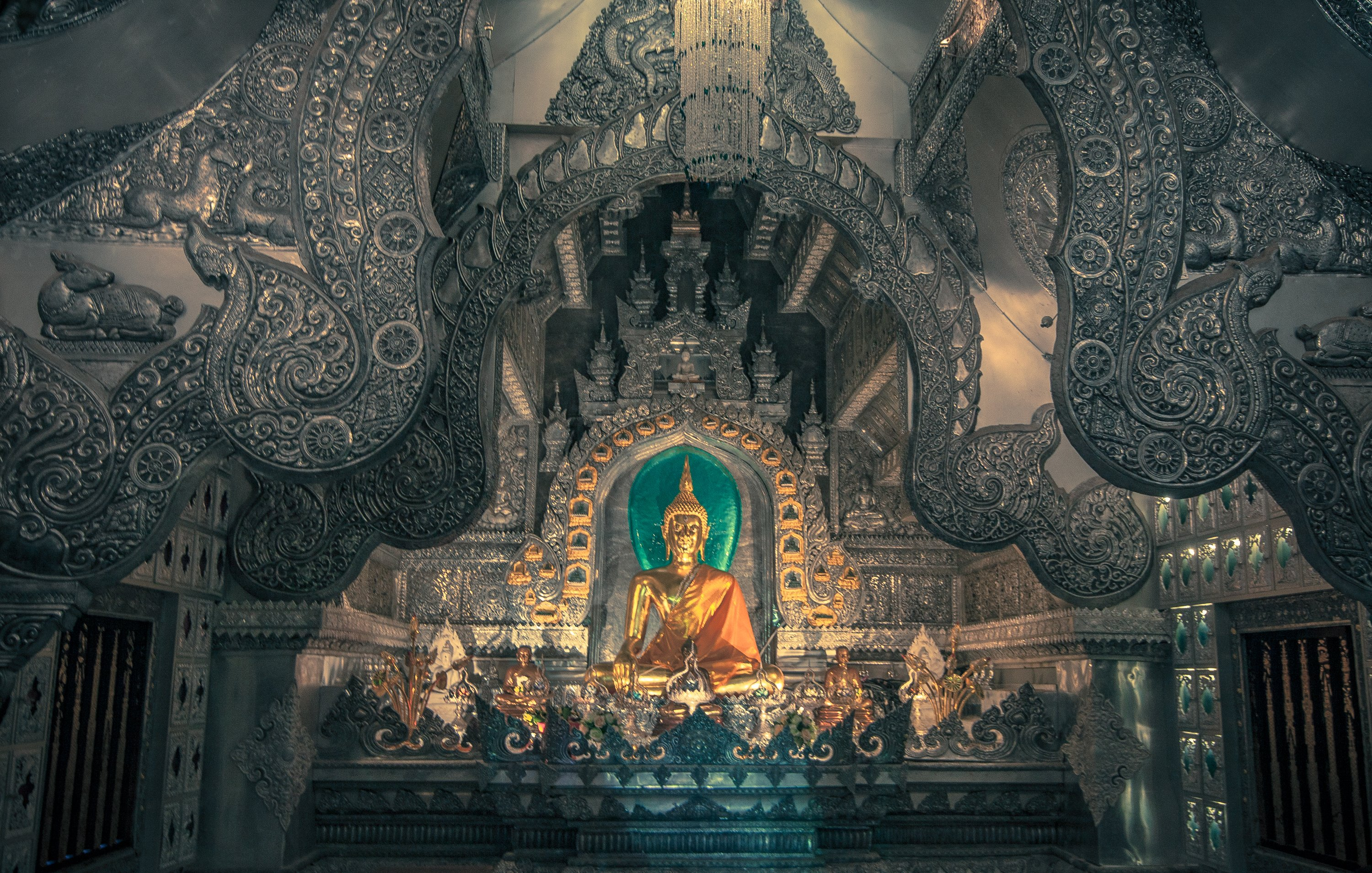 The Silver Temple- Chiang Mai Thailand