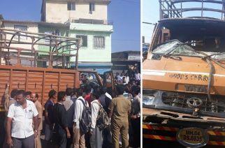 The tempo than crushed Alman Kadir and Aditya Prajapati to death in Nalasopara