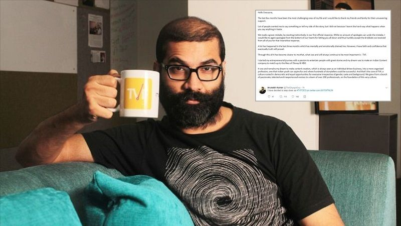 3 months after being booked for molestation, Arunabh Kumar steps down as TVF CEO