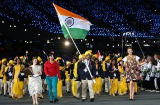 Indian contingent at the London Olympics 2012