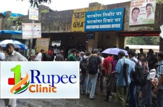 The first '1 Rupee Clinic' will come up at Ghatkopar station
