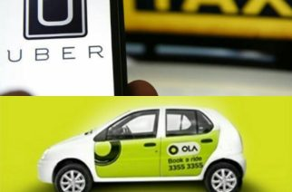 Uber and Ola cabs