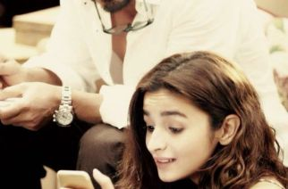 Alia and SRK