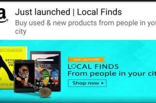 With Local Finds, customers can buy and sell across multiple categories including books, video games, music, movies, mobiles, tablets, laptops, accessories, fashion and home decor