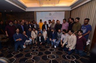 Amitabh Bachchan with other alumni members