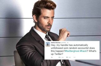 Hrithik Roshan's twitter account gets hacked