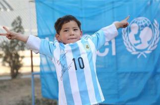 5-year-old Murtaza Ahmadi