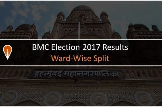 BMC Elections 2017 Result: Ward-wise split of winners (corporators) and parties