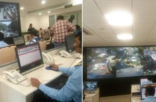 BMC's new disaster control room. Picture Courtesy: Ranjeet Singh
