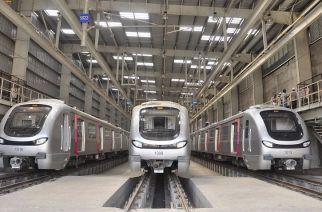 Representational image of Mumbai Metro