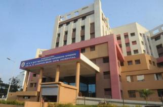 Juhu's Cooper Hospital, where Mahato is currently admitted