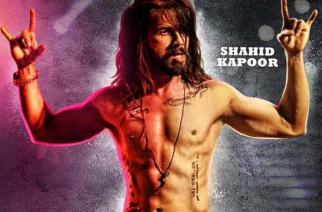A poster of Udta Punjab featuring Shahid Kapoor
