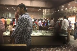 A jewellery store in Mumbai after demonetization announcement. Picture Courtesy: Sandesh Desai