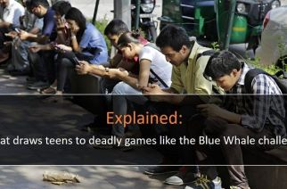 The Blue Whale challenge has reportedly claimed the lives of over 130 boys and girls across the world (Representational Image. Courtesy: journaldugeek.com)