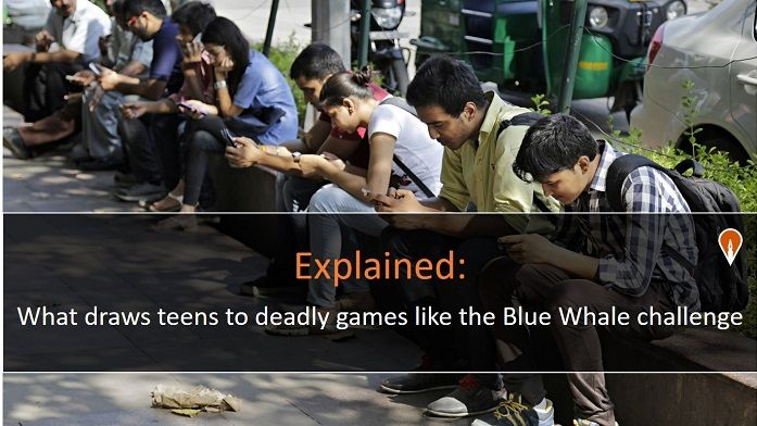 Explained: What draws teens to deadly games like the Blue Whale challenge
