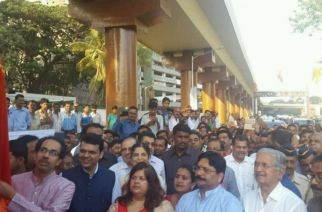 Flyover connecting Goregaon East and West thrown open for public