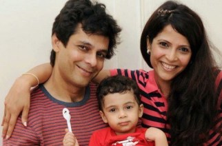 Rashmi and Asif Shahbazker with their child (Picture Courtesy: Chirayu R/Twitter)