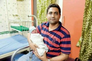 Nimesh Bhansali and the baby