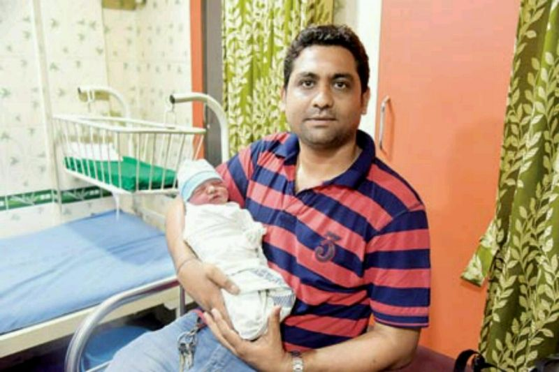 God-sent angel gives new life to a newborn found in a Naigaon nullah 2