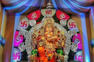 Ganesha at GSB Mandal in Kings Circle