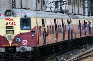 A harbour line train