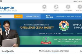 A screengrab of the National Portal of India (representational)